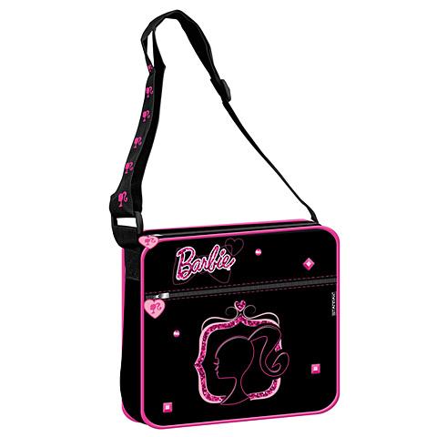 eacf79a20597 Barbie pink-fekete válltáska   PÓNY JÁTÉK Webáruház
