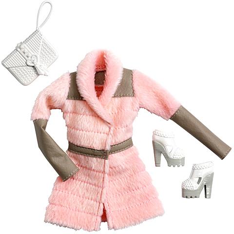 Barbie Rózsaszín télikabát ruhaszett kiegészítőkkel  1bb4cbcd24
