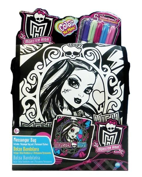 Color Me Mine Színezhető oldaltáska - Monster High  148722ac48