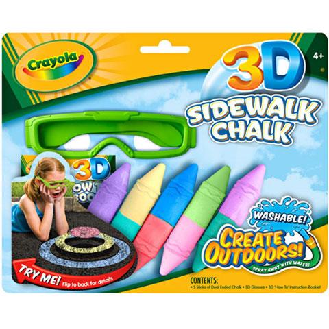 58c5acef6fff Crayola 5 db kétvégű aszfaltkréta 3D   PÓNY JÁTÉK Webáruház