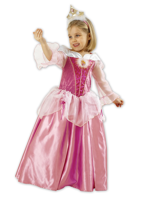 Farsangi Jelmez-Disney Princess-Csipkerózsika-Koronával