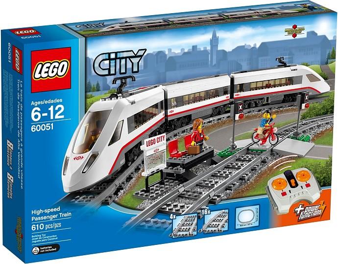 LEGO CITY Nagysebességű vonat  8abf8b5941