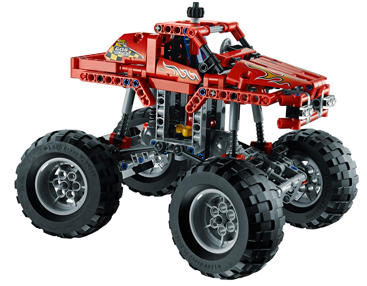lego technic monster truck p ny j t k web ruh z. Black Bedroom Furniture Sets. Home Design Ideas