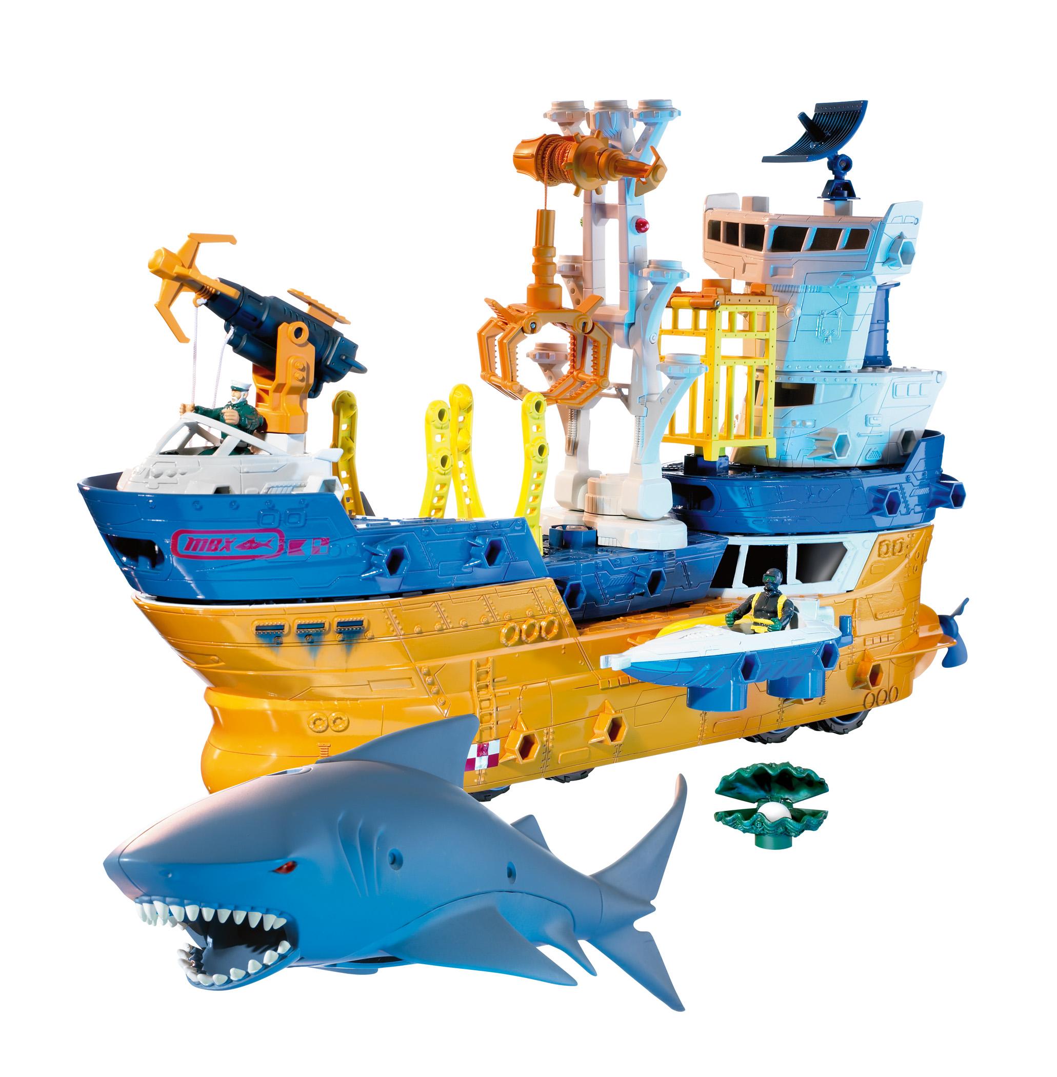Shark Boat Toy : Matchbox shark ship cápavadász hajó pÓny jÁtÉk webáruház