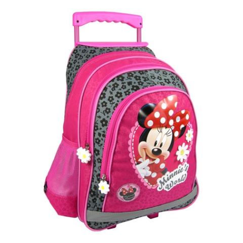 84ca0ddb413c Minnie Egér virágos húzható iskolatáska hátizsák   PÓNY JÁTÉK Webáruház