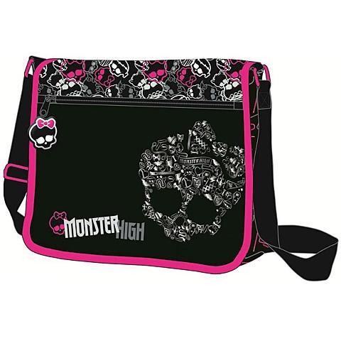 Monster High oldaltáska fekete színben  97b31719e8