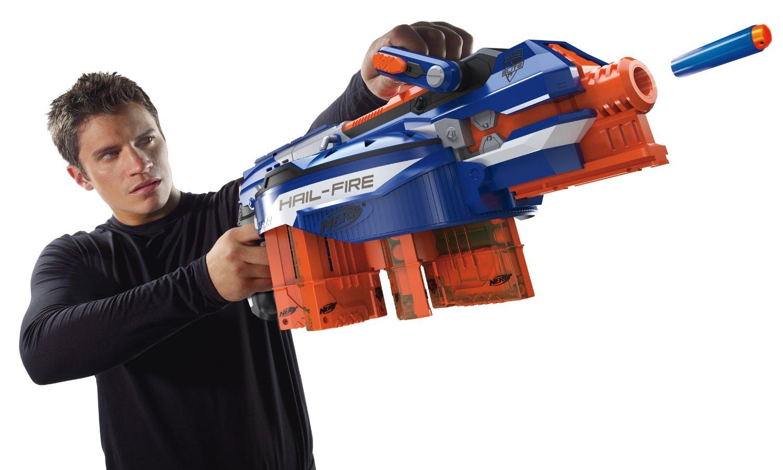 Toy Guns With Bullets Nerf N-Strike El...