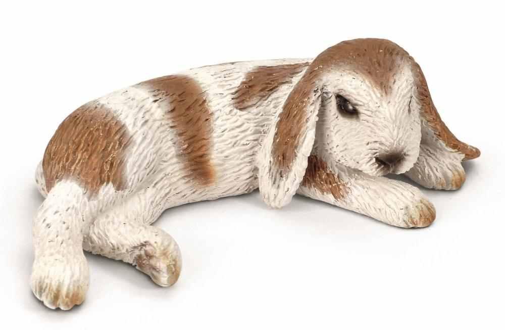 Schleich figura - Angol fekvő kos-orrú nyúl | PÓNY JÁTÉK