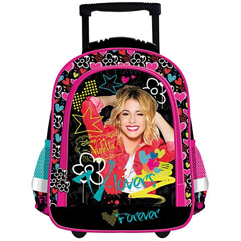 c87104639302 Violetta Flowers húzható iskolatáska hátizsák | PÓNY JÁTÉK Webáruház