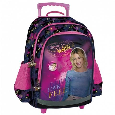 b10556c1ec72 Violetta húzható iskolatáska, hátizsák   PÓNY JÁTÉK Webáruház