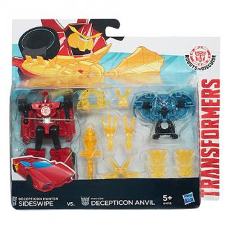 Transformers Robots in Disguise Sideswipe Vs Mini-Con Anvil csomag