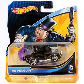 Hot Wheels DC Universe Pingvin kisautó 1/64