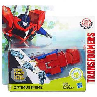 Transformers - Robots in Disguise Optimus Prime egy lépéses robotfigura
