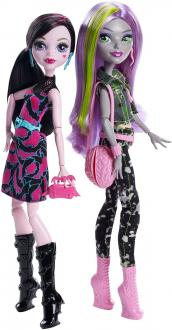 Monster High Üdvözöl a Monster High rivális babák