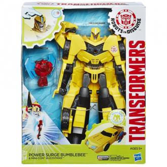Transformers - Robots In Disguise Power Surge Űrdongó és Buzzstrike figura