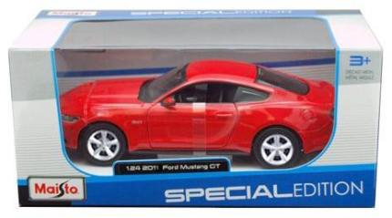 Maisto 1:24 Ford Mustang GT 201 piros