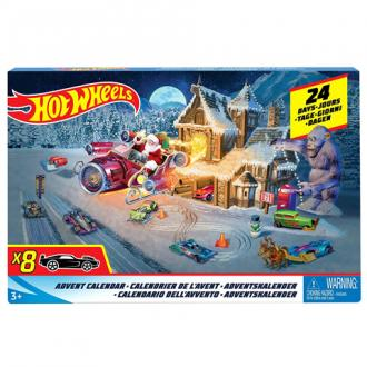 Hot Wheels Adventi naptár szett