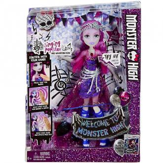 Monster High Ari Hauntington popsztár baba