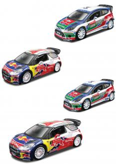 Burago 1:32 Rally collecion
