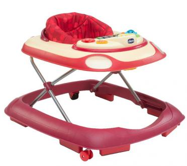 Chicco Band Baby Walker Bébikomp - Red Wave