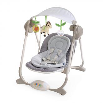 Chicco Polly Swing Baba Hinta Kül és Beltérre - Grey