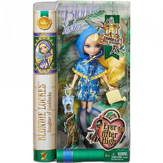 Ever After High Blondie Lockes Erdei ünnepség baba