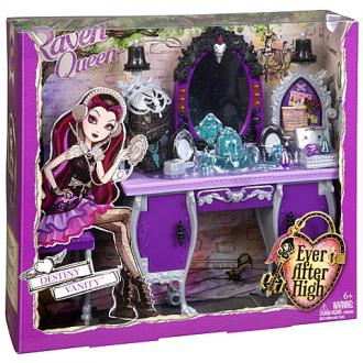 Ever After High Raven Queen öltözőasztala