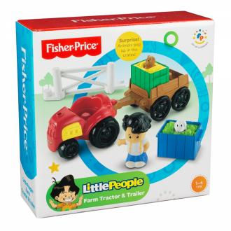 Fisher Price - Little People Kisállat Farm Traktor