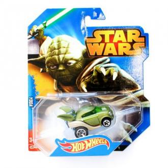 Hot Wheels Star Wars Yoda karakter kisautó 1:64