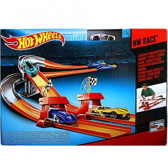 Hot Wheels - Turbo Race Autópálya Szett