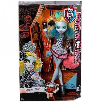 Monster High Lagoona Blue Szörny-csereprogram baba