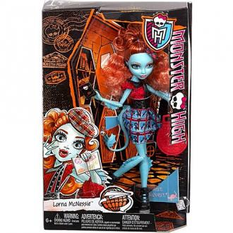 Monster High Lorna McNessie Szörny-csereprogram baba