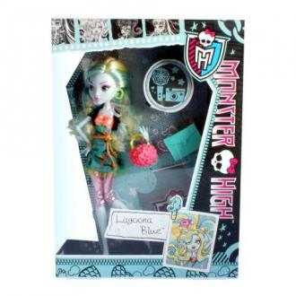 Monster High Rémkönyves Lagoona Blue baba