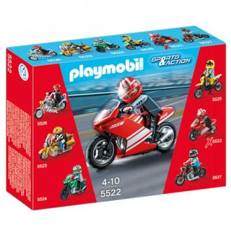 Playmobil Tűzpiros Speed motor