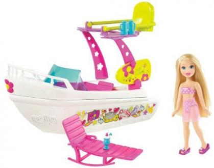 Polly Pocket Vízikaland Jacht-(R4813)