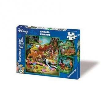 Ravensburger Animal Friends Puzzle 3 x 49 db