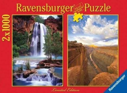 Ravensburger Grand Canyon Puzzle 2 x 1000 db
