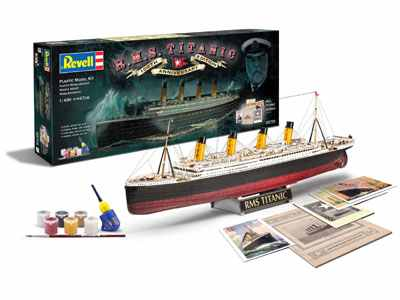 Revell Makett - Revell Gift Set 100th Anniversary of the Titanic