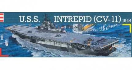 Revell Makett - Revell - 1-720 USS Intrepid