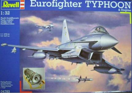 Revell Makett - Revell Eurofighter Typhoon & full engine