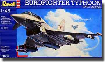 Revell Makett - Revell EUROFIGHTER TYPHOON twin-seater