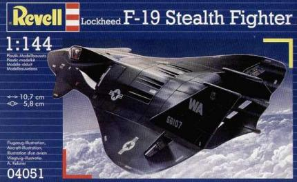Revell Makett - Revell F-19 Stealth Fighter