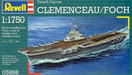 Revell Makett - Revell - French aircraft carrier Clémenceau - R98