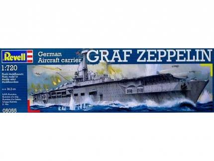 Revell Makett - Revell German Aircraft carrier `Graf Zeppelin`
