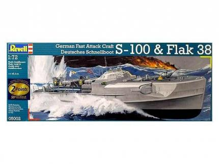 Revell Makett - Revell German Fast Attack Craft & Flak Armament