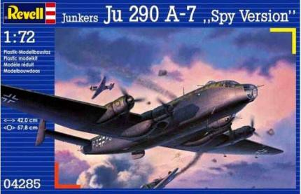 Revell Makett - Revell Junkers Ju290 A-7 Attacker