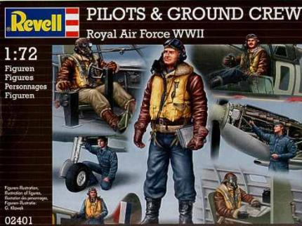 Revell Makett - Revell Pilots and Ground Staff-ROYAL AIRFORCE WWII