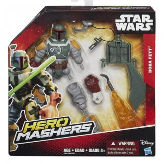 Star Wars Hero Mashers Episode VI Boba Fett figura