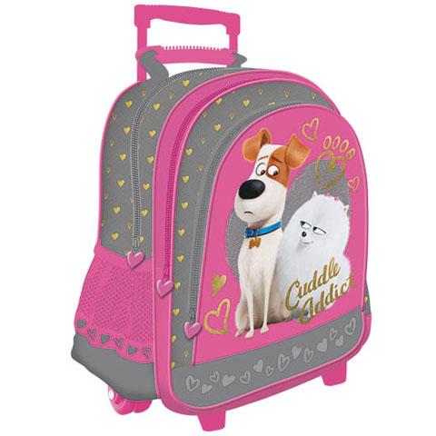 04c04e243620 Kis kedvencek titkos élete húzható iskolatáska hátizsák   PÓNY JÁTÉK ...
