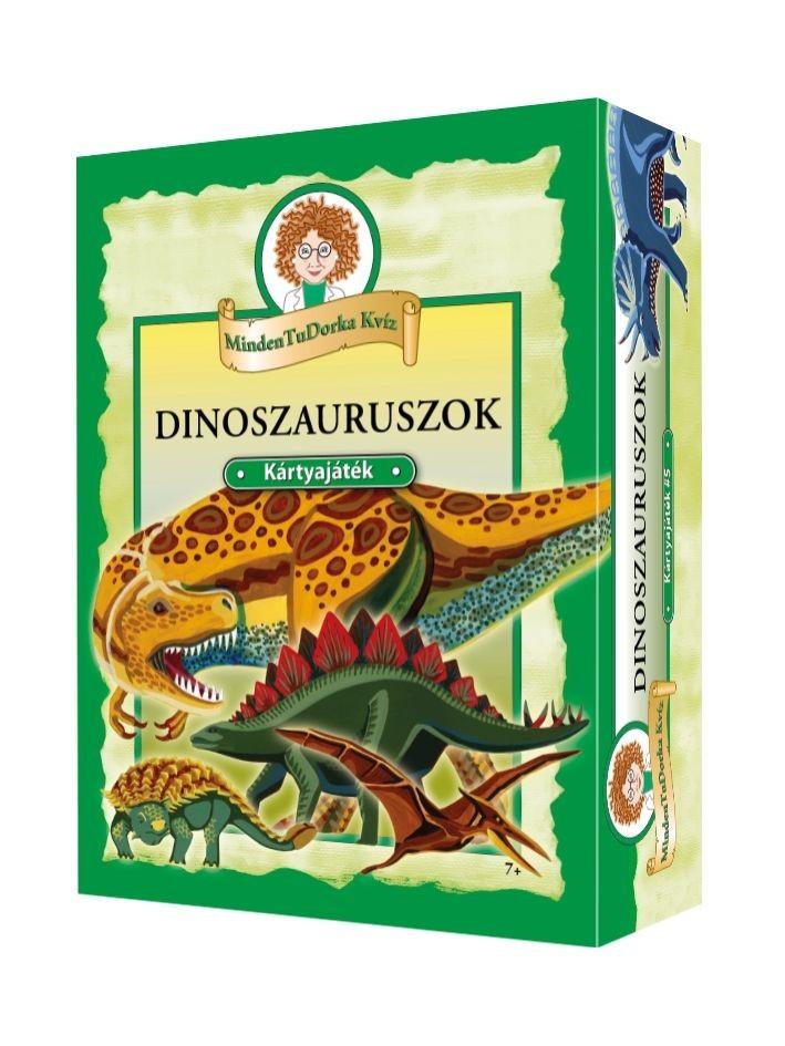 MindenTuDorka Kvíz Dinoszauruszok társasjáték | PÓNY JÁTÉK